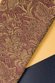 Bovenaanzicht elegante gladde textuur