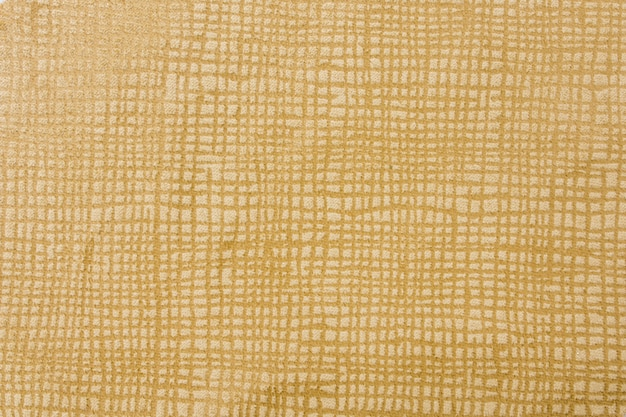 Bovenaanzicht gouden stof textuur