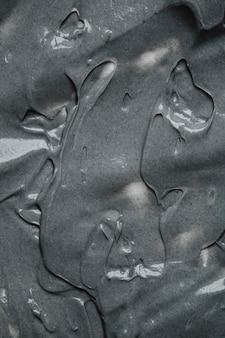 Bovenaanzicht grijs cementbehang