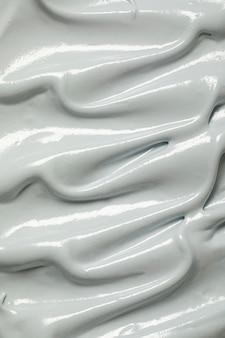 Bovenaanzicht heerlijk gesmolten ijs