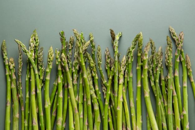 Bovenaanzicht heerlijke asperges