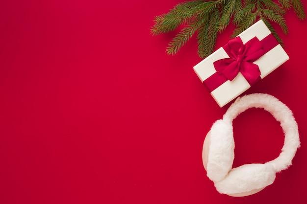 Bovenaanzicht kerst ornament