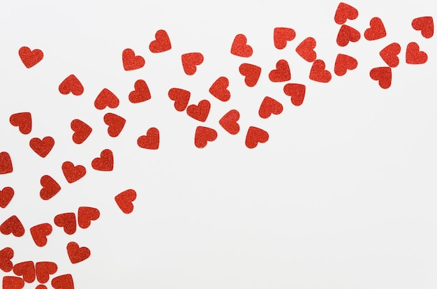Bovenaanzicht kleine hartcollectie