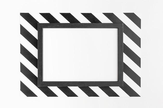 Bovenaanzicht kopie ruimte frame cyber maandag concept