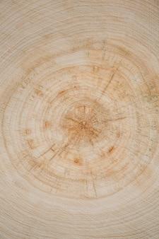 Bovenaanzicht licht hout behang