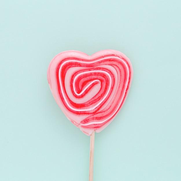 Bovenaanzicht lollipop