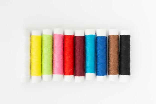 Bovenaanzicht naai-accessoires