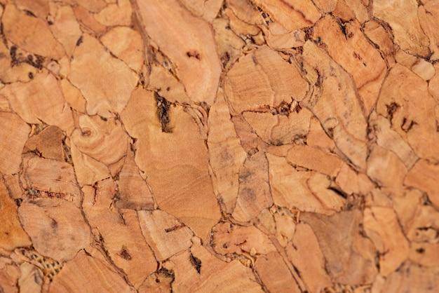Bovenaanzicht natuurlijke houten textuur