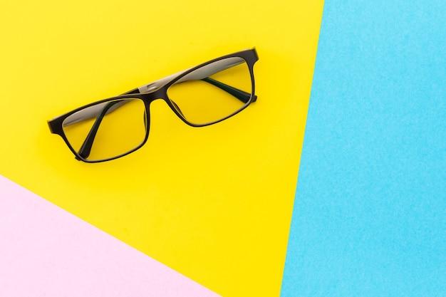 Bovenaanzicht nieuwe bril