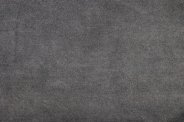 Bovenaanzicht oude zwarte jeans achtergrond