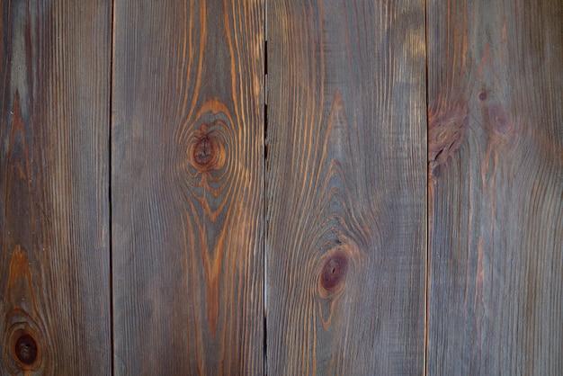 Bovenaanzicht planken van oud hout