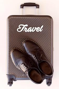 Bovenaanzicht reiselementen samenstelling
