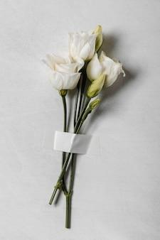 Bovenaanzicht rozen assortiment