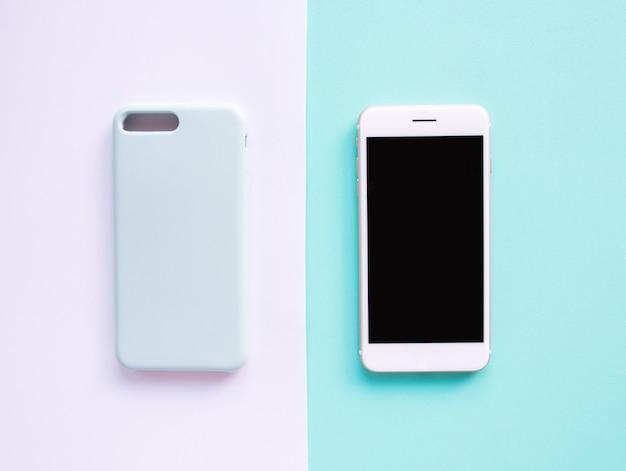 Bovenaanzicht, smartphonemanier.