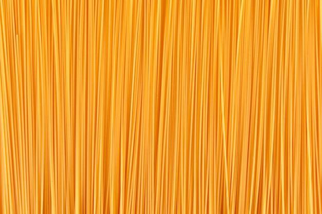 Bovenaanzicht spaghetti oppervlak