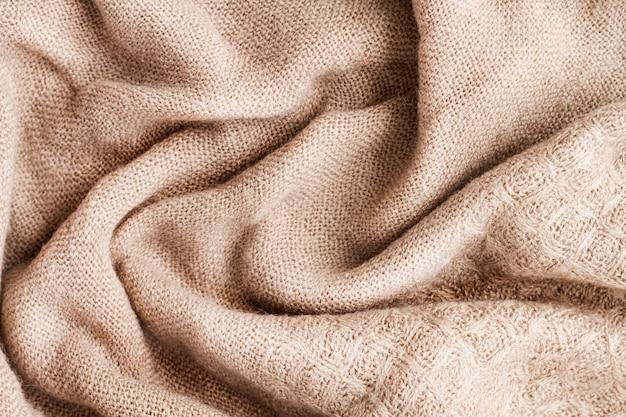 Bovenaanzicht van doek