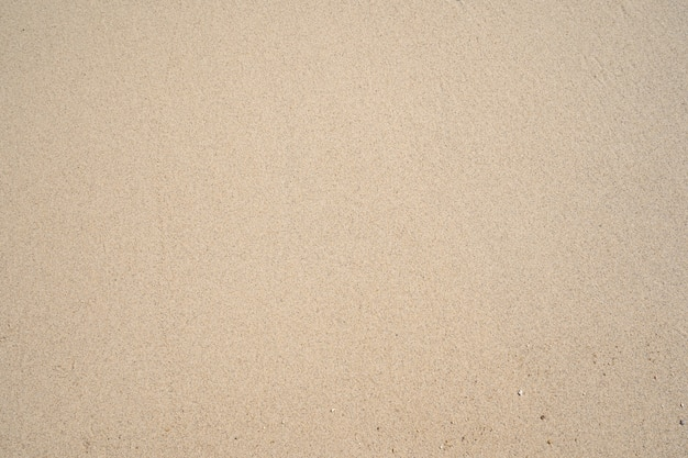 Bovenaanzicht van fijn zand textuur natuurlijke achtergrond zomer en reizen achtergrond.