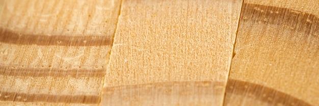 Bovenaanzicht van houtmateriaal