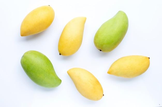 Bovenaanzicht van mango,