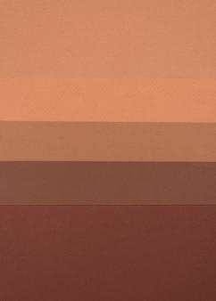 Bovenaanzicht van monochromatische kleuren