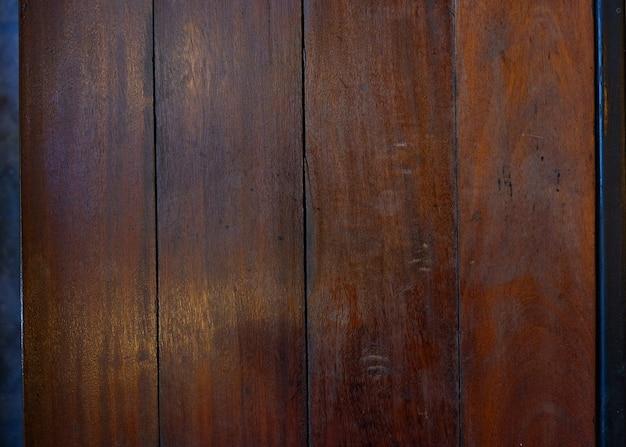 Bovenaanzicht van oud hout, rustiek en grounge hout.