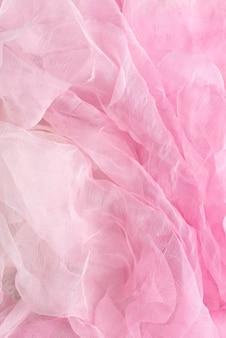 Bovenaanzicht van stof textuur