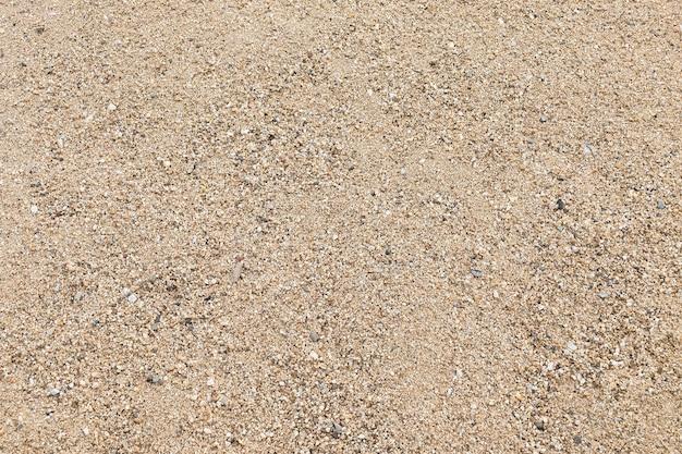 Bovenaanzicht van zandstrand. achtergrond met kopie ruimte.