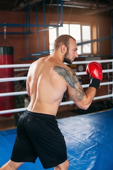 Boxer nam het standpunt in.