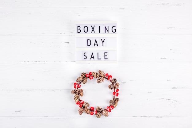 Boxing day sale seizoenspromotie