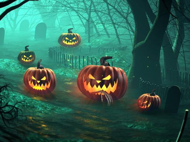 Boze halloween jack o lanter