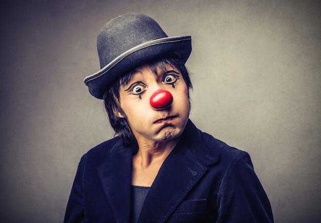 Boze woedende clown