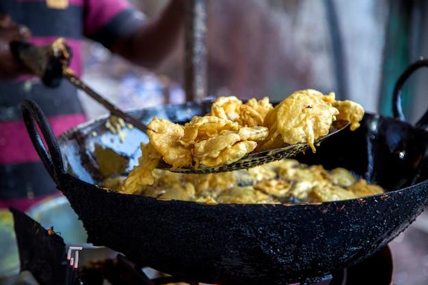 Braden van eten in mumbai, india