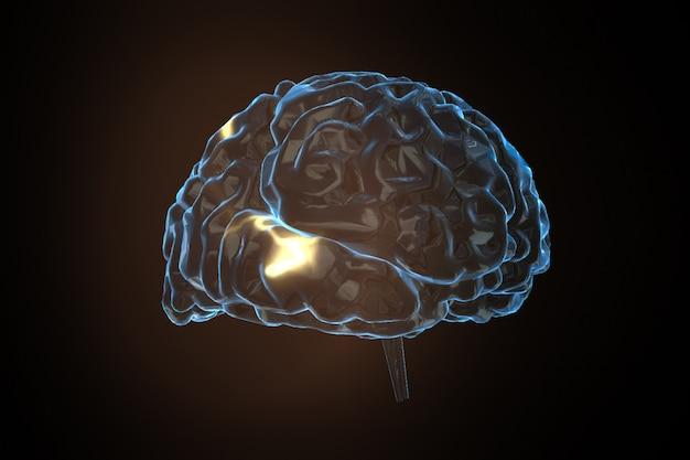 Brain power concept