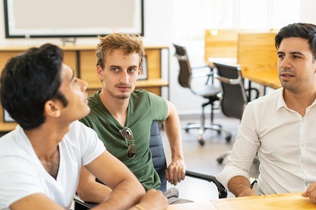 Brainstormen in trainingsgroep