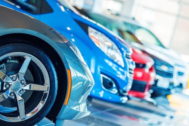 Brand nieuwe auto's te koop