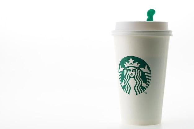 Branded koffiekop