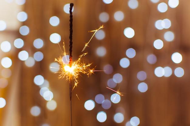 Branden van bengaals licht