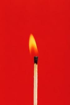 Brandende lucifer