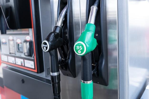 Brandstofpompen van diesel en benzine