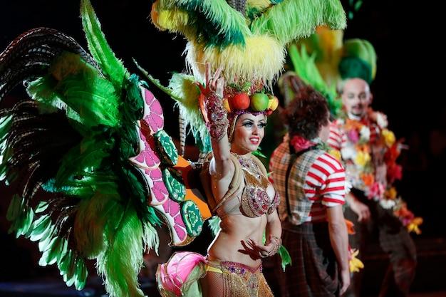 Braziliaans carnavalskostuum