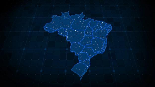 Brazilië kaart