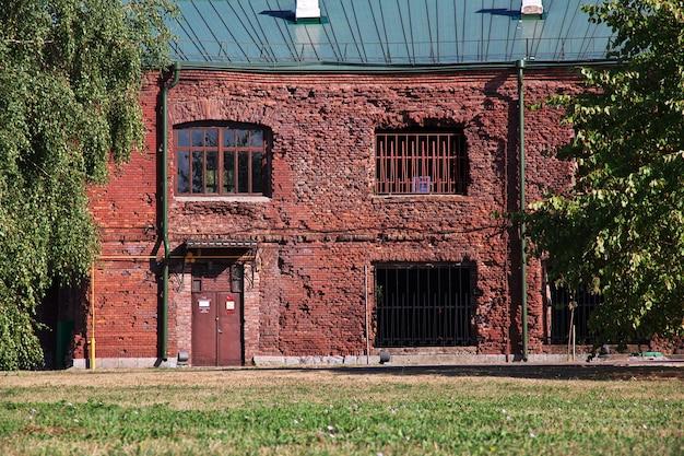 Brest fort in wit-rusland land