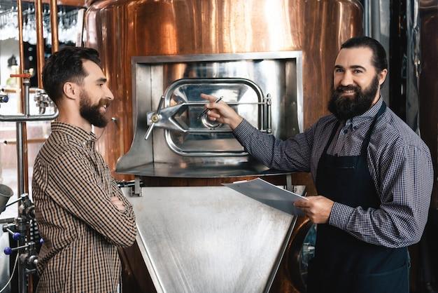 Brewers houdt van job beer manufacturing technology.