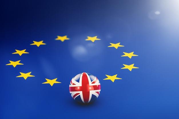 Brexit. vertrek vanuit het verenigd koninkrijk vanuit de europese unie