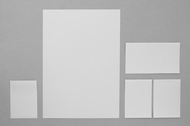 Briefpapier regeling plat leggen