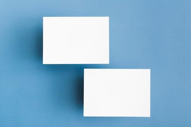 Briefpapier visitekaartjes concept