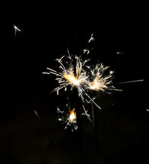Bright sparkler
