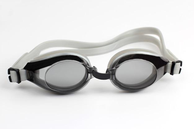 Bril voor duiken op wit