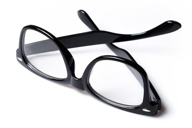 Brillen met zwarte rand