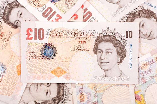 Britse ponden, een zakelijke achtergrond